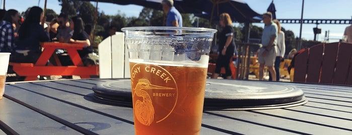 Stony Creek Brewery is one of Tempat yang Disukai Eric.