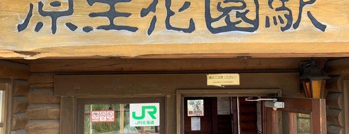 原生花園駅 is one of JR 홋카이도역 (JR 北海道地方の駅).