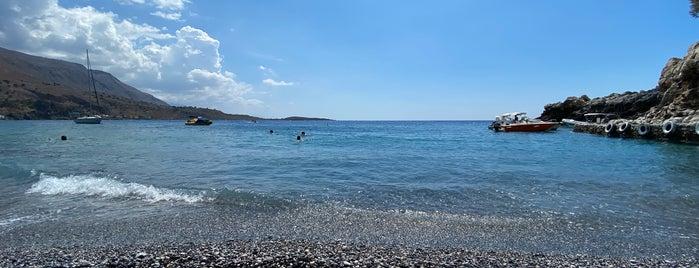 Marmara Beach is one of Crete.