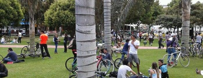 Parque de la 93 is one of Colombia.