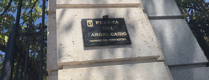 Puerta del Angel Caido is one of Rafael's Liked Places.