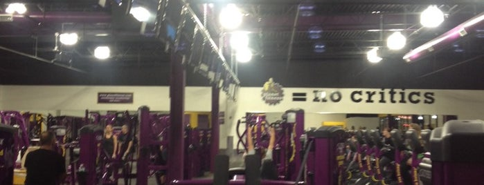 Planet Fitness is one of Lieux qui ont plu à Duies.