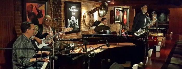 Juan Sebastian Bar is one of Music Listening places.