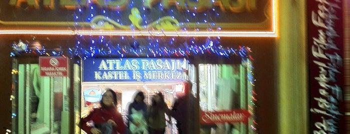 Atlas Pasajı is one of My Istanbul.
