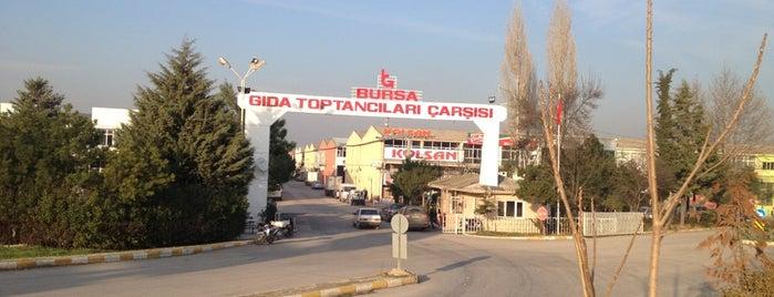 Gıda Toptancıları Sitesi is one of Murat karacim : понравившиеся места.