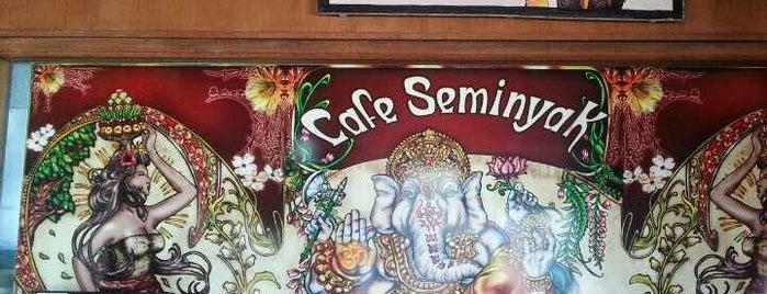 Cafe Seminyak is one of Tempat yang Disimpan Alex.