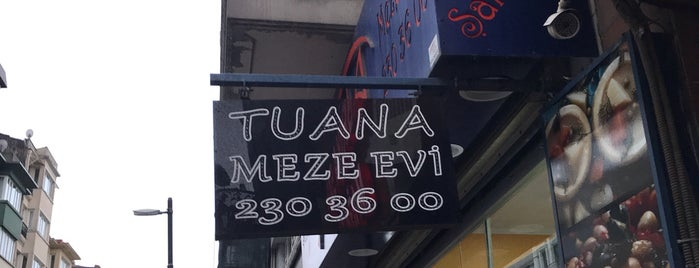 Tuana Meze Evi is one of Gidilecek.