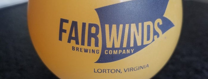 Fair Winds Brewing Company is one of Colonial Williamsburg.