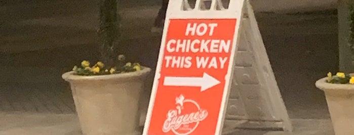 Eugene's Hot Chicken Restaurant is one of bham restaurants.