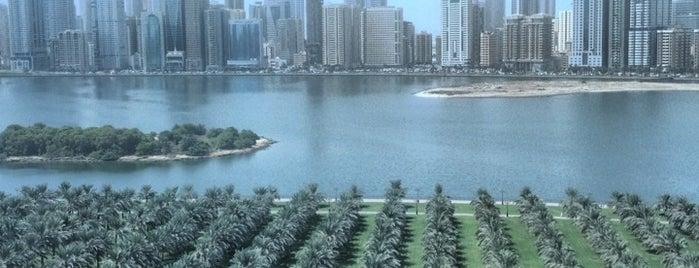 Khalid Lake  بحيرة خالد is one of الشّارقة..