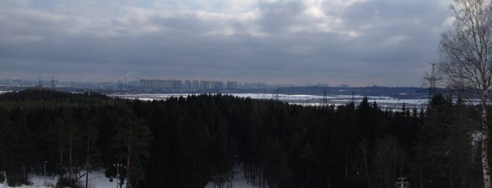 Юкки Парк is one of Горнолыжные курорты СПБ и ЛО.