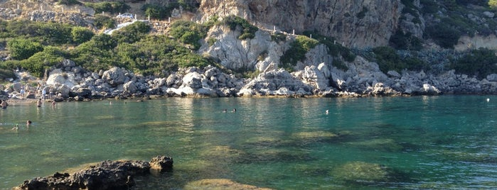 Ladiko Beach is one of Rhodes island potpourri.