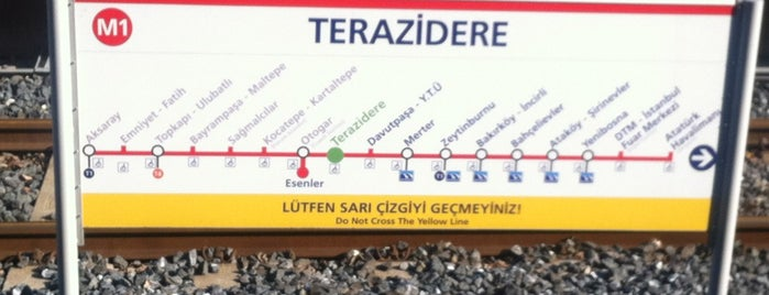 Terazidere Metro İstasyonu is one of İstanbul 2.
