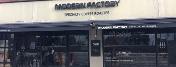 Modern Factory is one of Coffee Excellence.