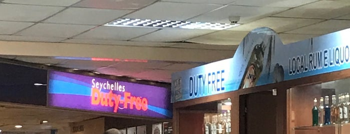 Duty Free is one of International Airports.