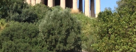 Temple of Hephaistos is one of places...