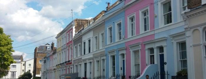Portobello Road Market is one of Twenty-One London Picks.