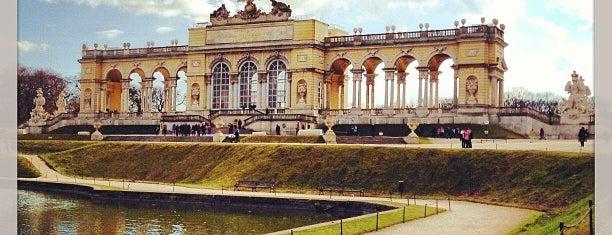 Gloriette is one of Vienna - Wien - Viedeň.