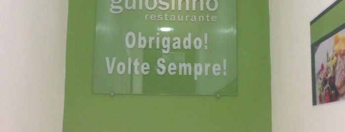 Gulosinho Restaurante is one of Orte, die Esteban gefallen.