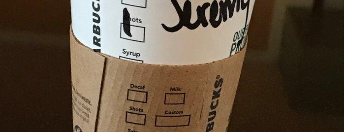 Starbucks is one of Orte, die Sagy gefallen.