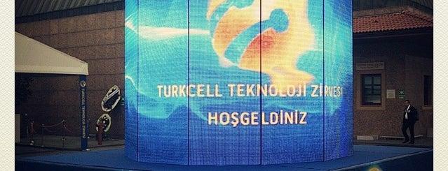 Turkcell Teknoloji Zirvesi is one of Lieux sauvegardés par Oya.