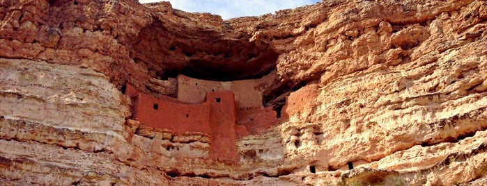 Montezuma Castle National Monument is one of Historian 2.
