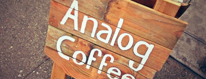 Analog Coffee is one of Seattle Bachelor Trip.