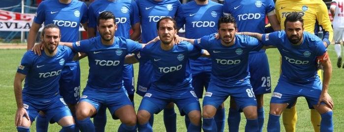 Ankara Demirspor Tesisleri is one of Kerim : понравившиеся места.