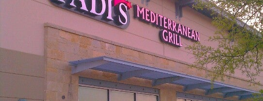 Fadi's Mediterranean Grill is one of Locais curtidos por Claudia.