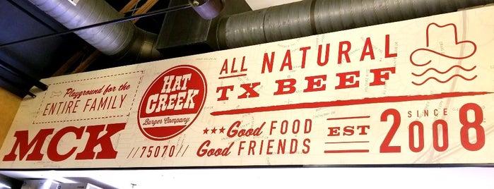 Hat Creek Burger Co. is one of Tempat yang Disukai David.
