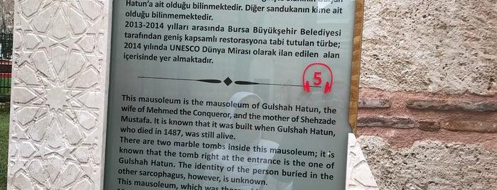 Gülşah Hatun Türbesi is one of Osmangazi | Spiritüel Merkezler.
