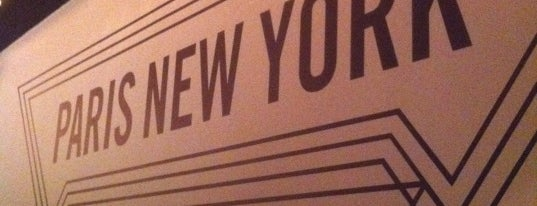 Paris New York is one of restos.