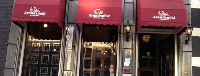Proeflokaal Arendsnest is one of Bier & Amsterdam.
