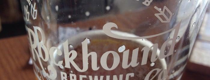 Rockhound Brewing Company is one of สถานที่ที่ William ถูกใจ.