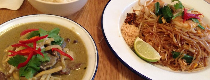 Rosa's Thai Cafe is one of Around the World in London Food.