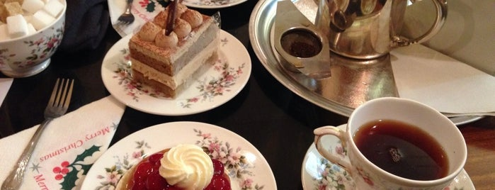 Louis Patisserie is one of London Tea Times.