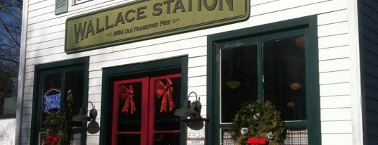 Wallace Station is one of Diners, Drive-Ins, & Dives.