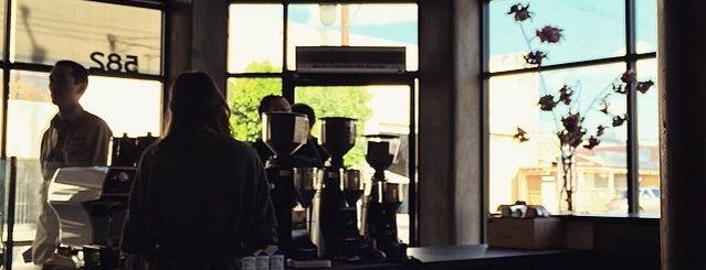 Blue Bottle Coffee Co is one of Los Angeles.