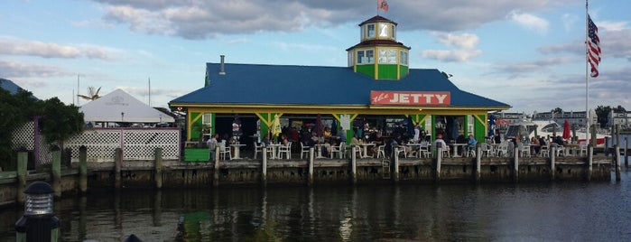 The Jetty Restaurant & Dock Bar is one of Maryland.