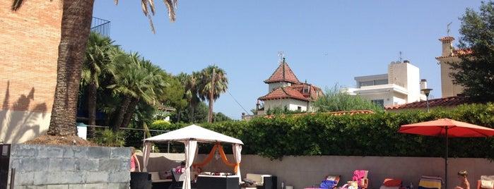 Hotel Antemare Spa**** is one of สถานที่ที่ jordi ถูกใจ.