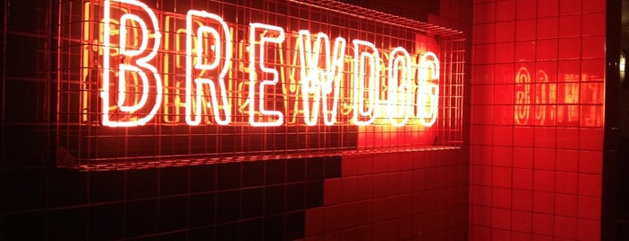 BrewDog Clapham Junction is one of London's Best for Beer.