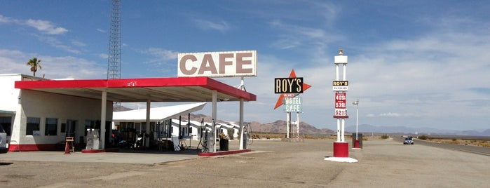 Roy's Hotel and Cafe is one of SoCal Musts.
