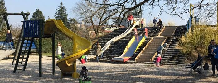 Otroško igrišče Tivoli is one of Slovénie.
