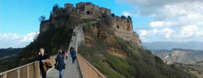 Civita di Bagnoregio is one of Borghi più belli d'Italia.