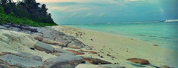 Hulhumale' Beach is one of if you're ever in ____.