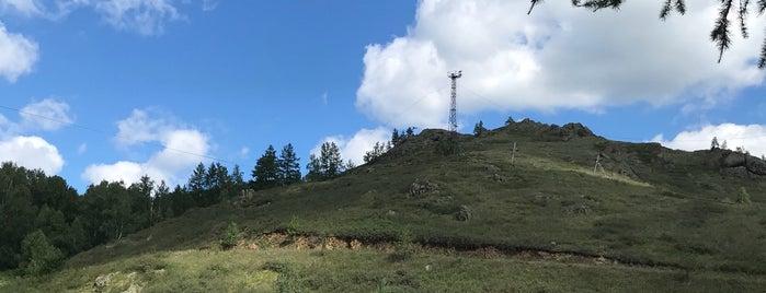 Вершина Абзаково is one of Tempat yang Disukai Vlad.