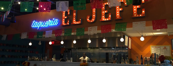 Taqueria El Jefe is one of Locais curtidos por David.
