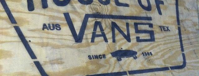 Vans Village @ SXSW is one of Tempat yang Disukai Monica.