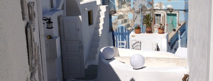 Mnemossyne Artists House is one of Santorini.