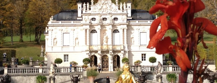 Schloss Linderhof und Venusgrotte is one of 100 обекта - Германия.